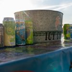 Ice Cold IPAs on a table