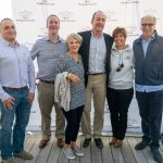Board members of New Neighborhoods at the Stamford Brew and Whiskey Festival
