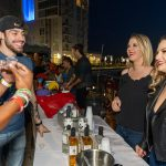 Patrons enjoying a night out at the 2019 Stamford Brew and Whiskey Festival