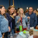 Women enjoying 5th State Distillery drinks at the 2019 Stamford Brew and Whiskey Festival